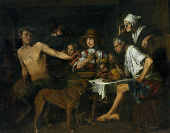 Satyr as a Guest of the Peasant
