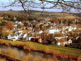 Usk, Wales