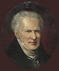 Alexander von Humboldt as an old man