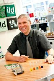Picture of Andrew Abbott, of University of Leicester's Department of Chemistry.