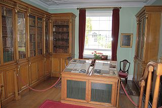 Picture of the laboratory at Bowood House, UK