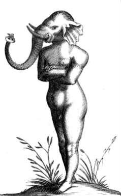 elephant-human hybrid