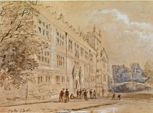 Shrewsbury School, early 19th century