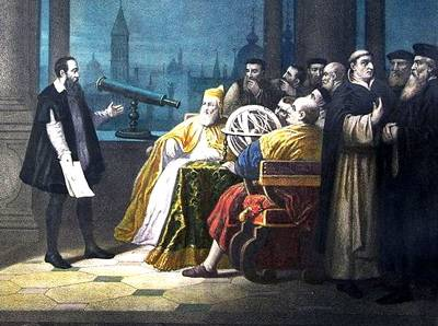 Galileo and doubting scholars