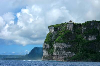 Picture of the cliffs of Guam.