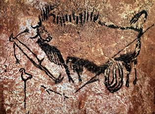 Picture of lascaux cave art