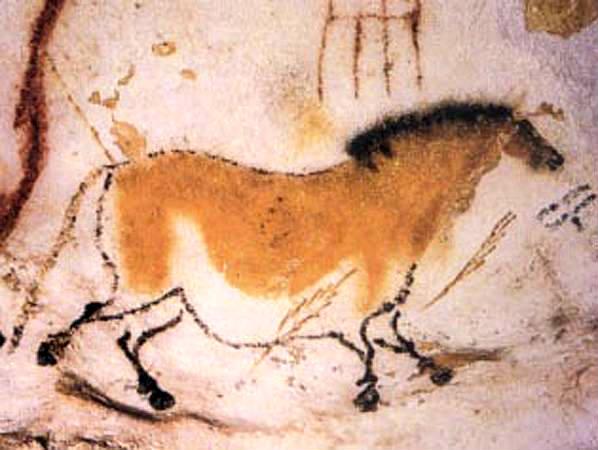 lascaux cave horse