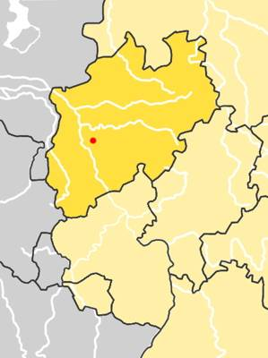 Location of Neander Valley