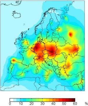 mercury pollution map