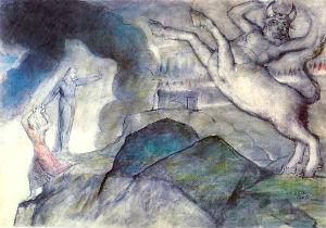 William Blake's Minotaur