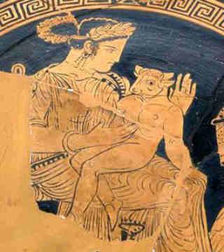 Pasiphae and the Minotaur