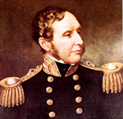 Robert Fitz-Roy, captain of the HMS Beagle