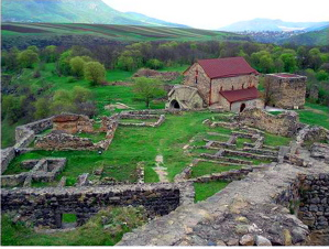 ruins at Dmanisi