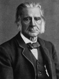 Charles Darwin, old man