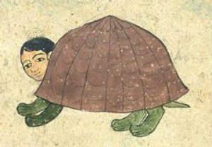 turtle-human hybrid