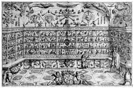 Aldrovandi cabinet of curiosities