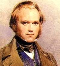 Charles Darwin, young man
